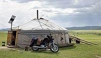 Tradition und Moderne in der Mongolei