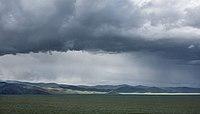 Mongolei Himmel und Landschaft