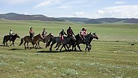 Reiter Mongolei