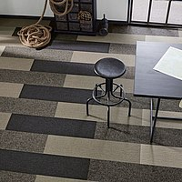 Teppich-Dielen Büro