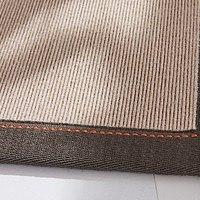 tretford Teppich mit Leinen-Bordüre